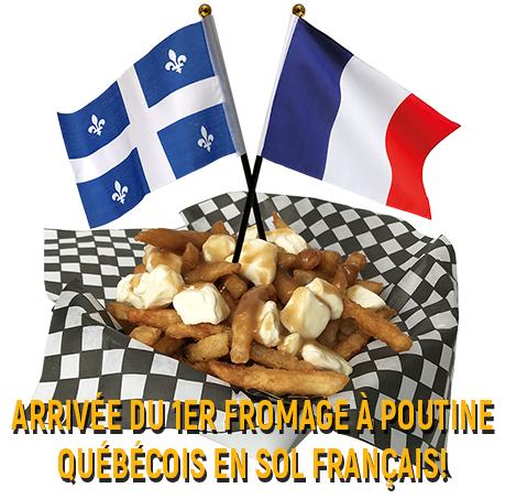 Arrivée du 1er fromage en grains québécois en sol français!