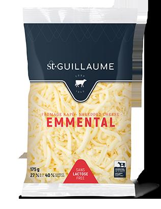 Fromage Emmental râpé format de 175 g