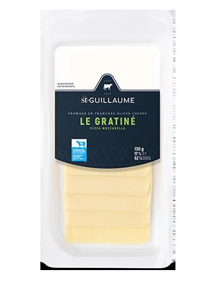 Fromage le Gratiné en tranche format de 130 g