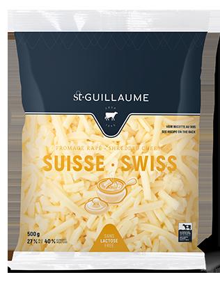 Fromage suisse râpé format de 500 g