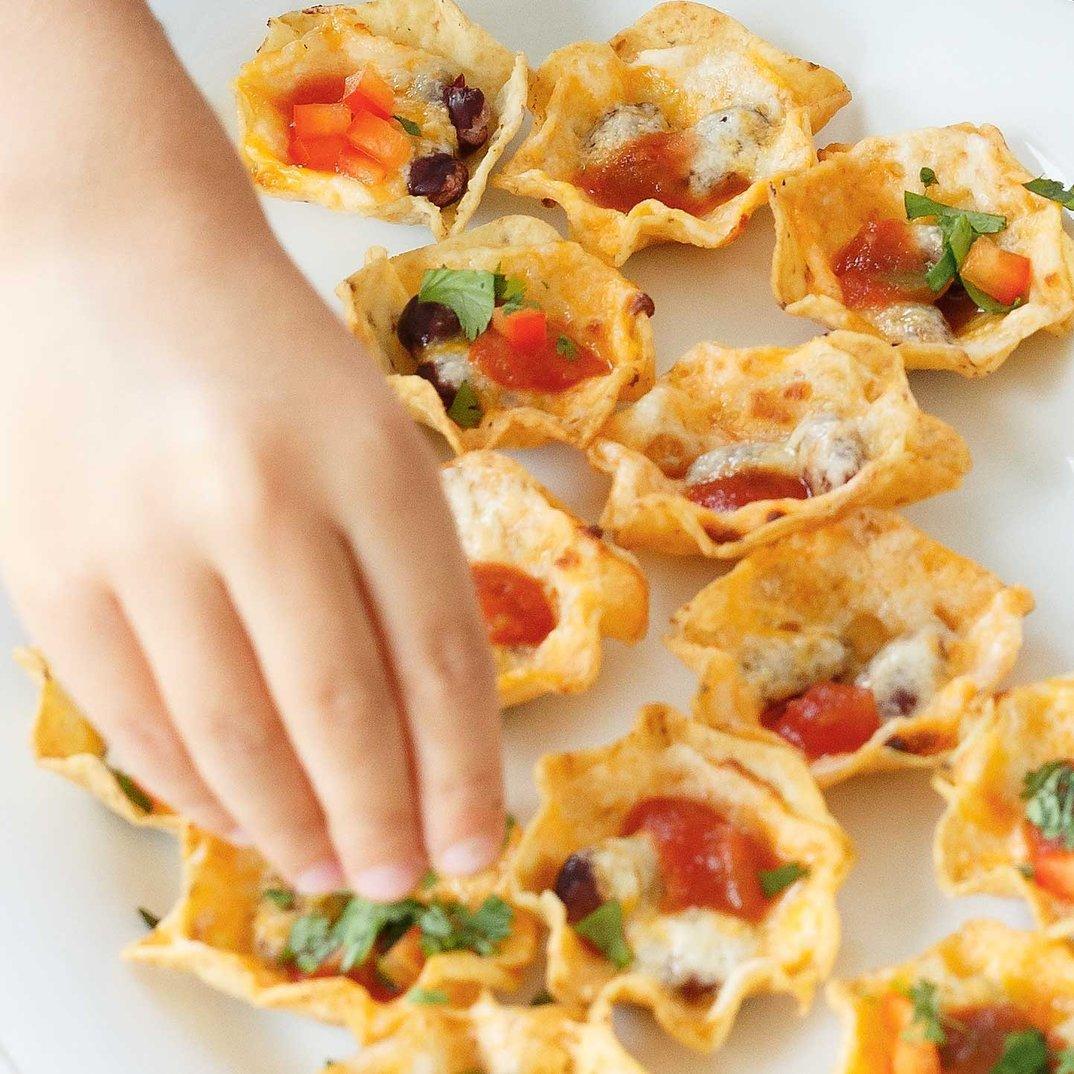 Bouchées de nachos