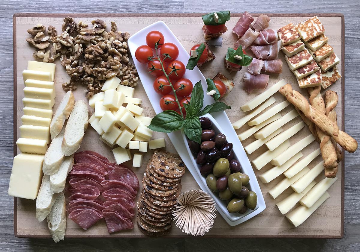 Plateau de fromages St-Guillaume, parfait en toute occasion