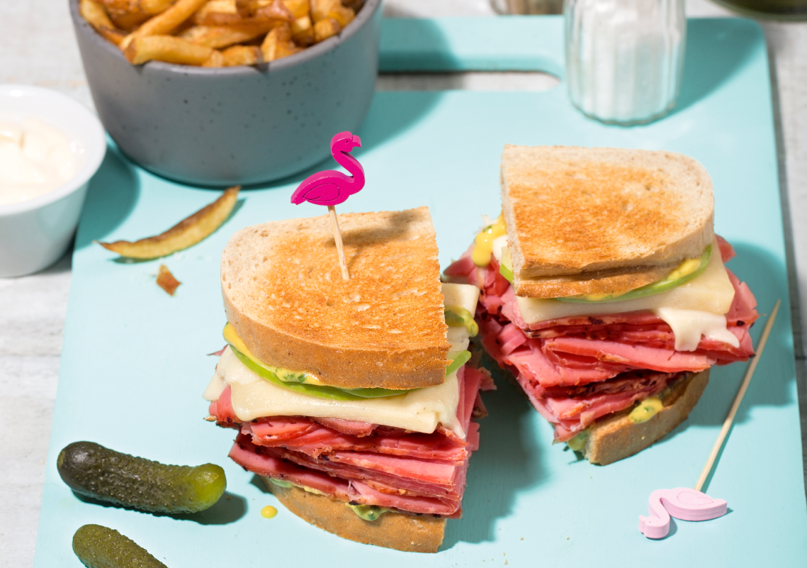 Smoked meat au Suisse St-Guillaume