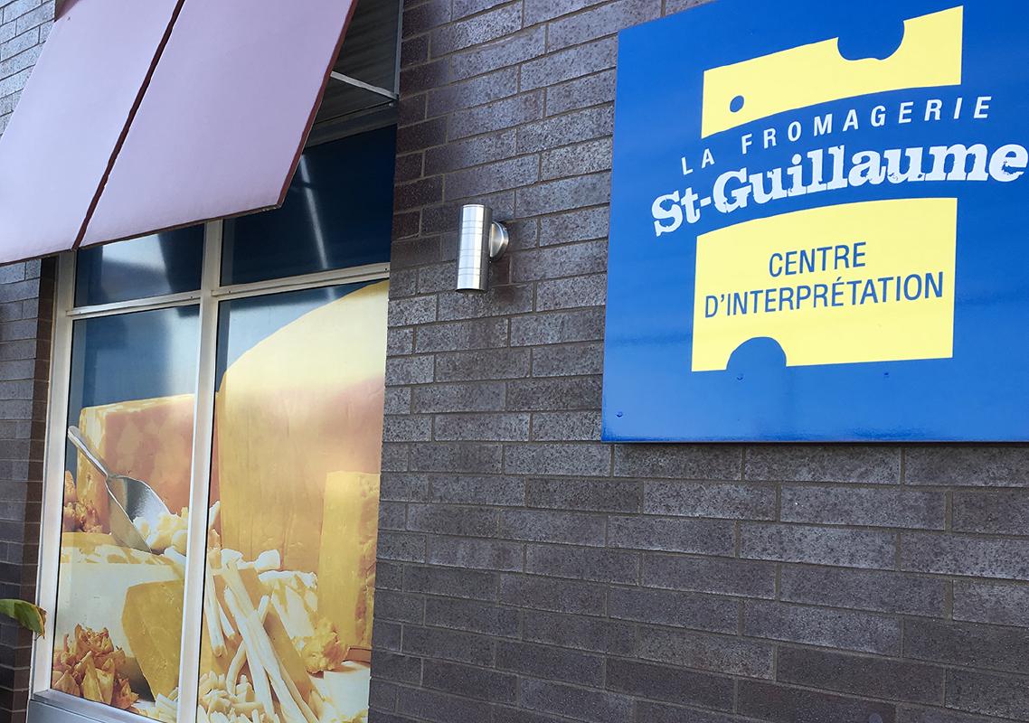 Relocalisation du Centre d'interprétation de la Fromagerie St-Guillaume